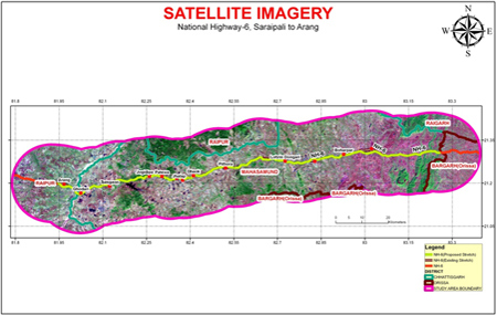 GIS satellite imagery