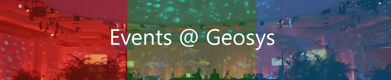GIS events banner